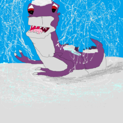 Chomper in the Snow