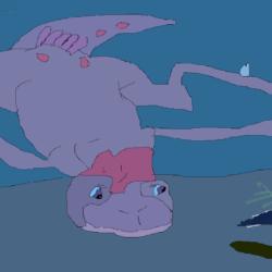 Swimming Ruby