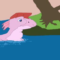Ruby in Water