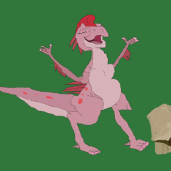 Ruby and Ducky Drawing
