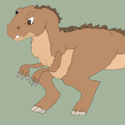 Sharptooth Kid Drawing