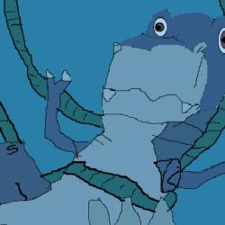 Sinking Chomper drawing